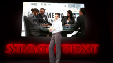 Ted Style Presentation After Effects Template