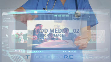 Surgeons Media Carousel stock footage