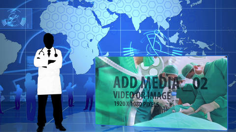 Medical Networks After Effects Template
