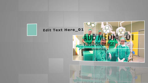 Medical Display After Effects Template