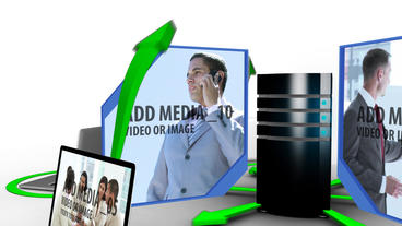 Data Transfer After Effects Template