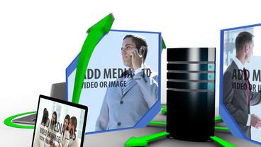 Data Transfer stock footage