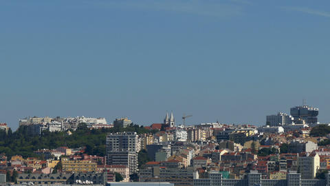 Panoramic View on the Lisbon Footage