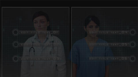 Doctors Digital Glass Display - 1