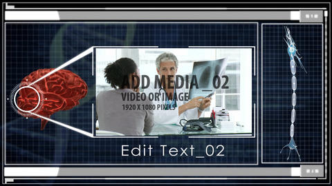 Brainstorming medical concept After Effects Template