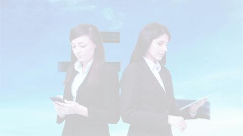 Busy Business Women - 1