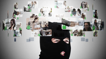 Cyber Crime After Effects Template