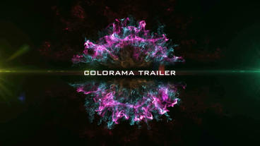 Colorama Trailer After Effects Template