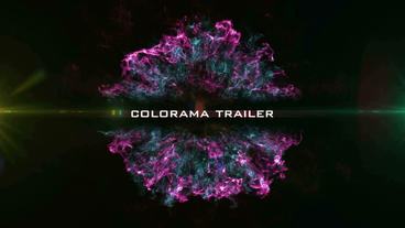 Colorama Trailer After Effectsテンプレート