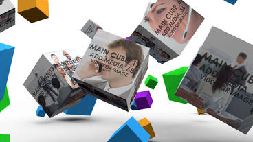Total Control cubes After Effects Template