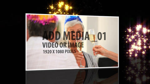 New years Eve Countdown After Effects Template