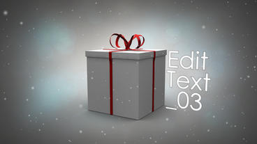 Present for You After Effects Template