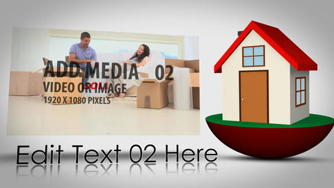 House Hunting After Effects Template