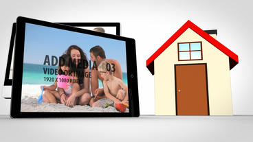 Home Media After Effects Template