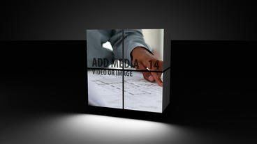 Square Motion After Effects Template