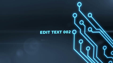 Circuit Evolution After Effects Template