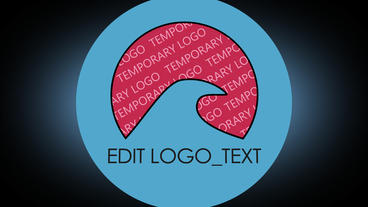 Rotating Logo Reveal After Effects Template