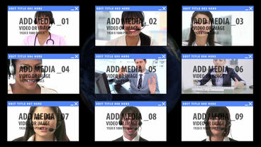 Global Video Conference After Effects Template