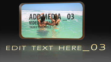 Formal Media Reveal After Effects Template
