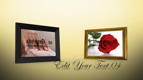 Wedding Frames After Effects Template