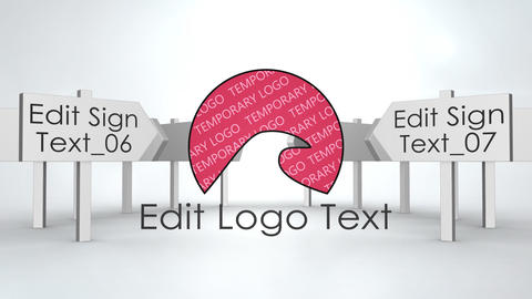 Signs Logo After Effects Template