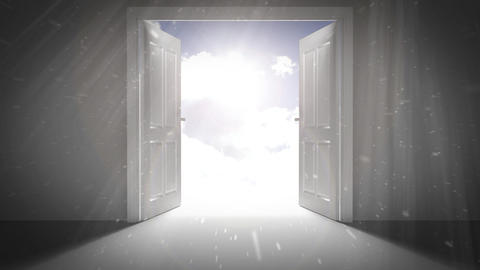 Opening Doors Logo After Effects Template