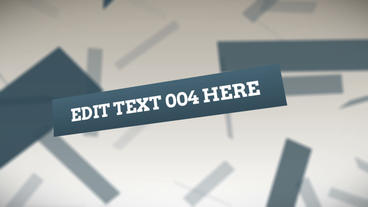 Floating Text Cards After Effects Template