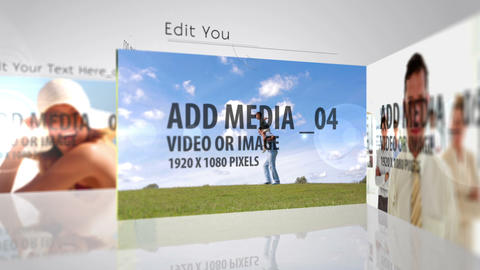 Media Strip After Effects Template