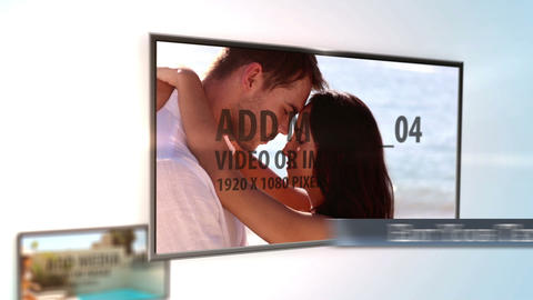 Clean Media Display After Effects Template