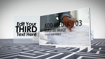 Business Labyrinth After Effects Template