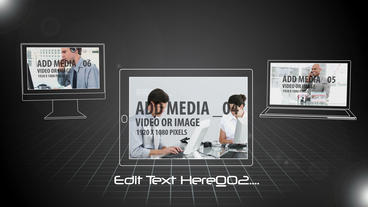 Digital Graphic Devices After Effects Templates