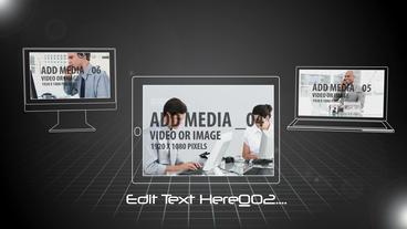 Digital Graphic Devices Plantilla de After Effects