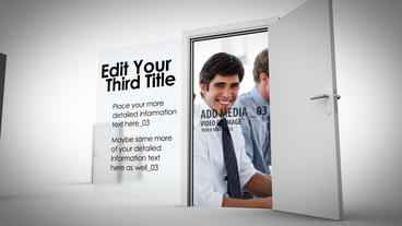 Opening Doors After Effects Template