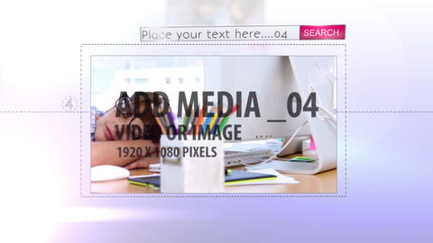 Web image display After Effects Template