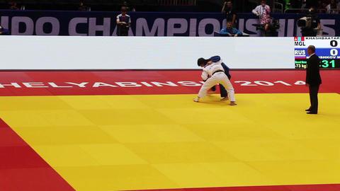 Judo World Championship. Russia. CChelyabinsk Stock Video Footage