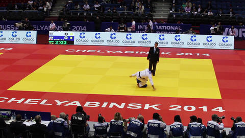 Judo World Championship. Russia. CChelyabinsk stock footage