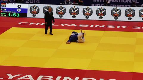 Judo World Championship. Russia. CChelyabinsk Footage