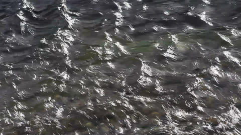 water flow pattern Stock Video Footage