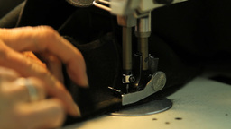 Sewing Machine Loden Manufacturing In Italy Footage