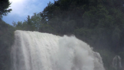 Slow Motion Waterfall Italy Footage