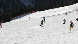 Sport Lifestyle Ski And Snowboard Footage