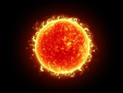 Sun 4k Stock Video Footage