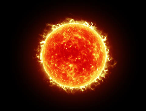 Sun 4k stock footage