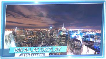Parallax Display Loop - After Effects Template After Effects Template