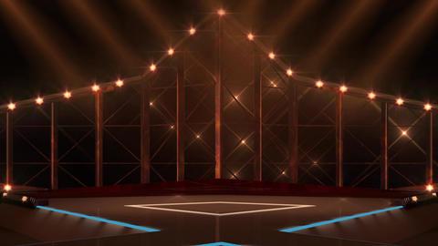 Entertainment TV Studio Set 12-Virtual Background Loop ライブ動画