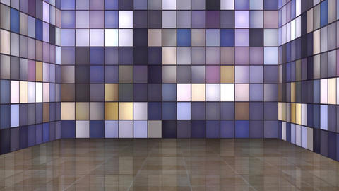 Entertainment TV Studio Set 14-Virtual Background Loop ライブ動画