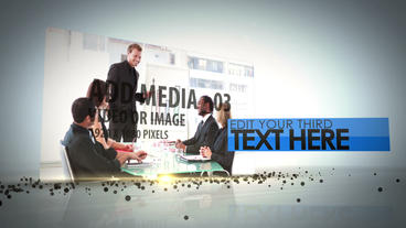 Media Drop After Effects Template