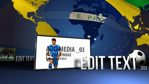 World cup media After Effects Template