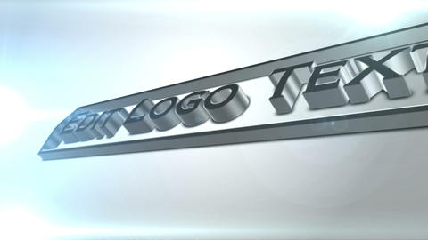 3d Curved Logo Reveal After Effects Template