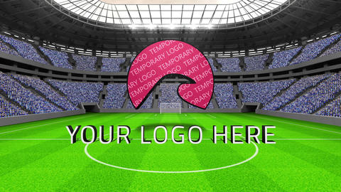 Stadium logo After Effects Template
